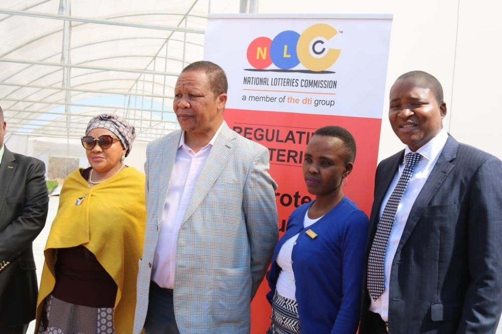 National Lotteries Commission Giving Back and Changing Lives